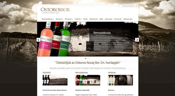 The agency's main task was to strengthen the brand of Ostoros Bor.
