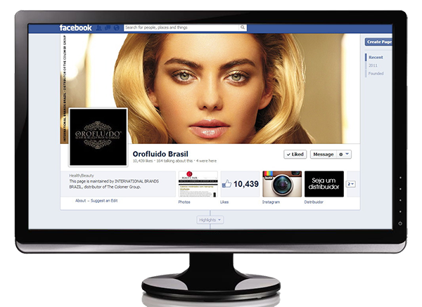 Orofluido Brasil Facebook page